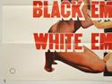 BLACK EMMANUELLE WHITE EMMANUELLE (Bottom Left) Cinema Quad Movie Poster