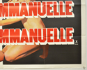 BLACK EMMANUELLE WHITE EMMANUELLE (Bottom Right) Cinema Quad Movie Poster
