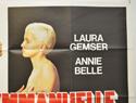 BLACK EMMANUELLE WHITE EMMANUELLE (Top Right) Cinema Quad Movie Poster
