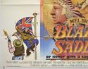 BLAZING SADDLES (Bottom Left) Cinema Quad Movie Poster