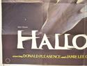 HALLOWEEN (Bottom Left) Cinema Quad Movie Poster