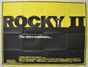 ROCKY II Cinema Quad Movie Poster