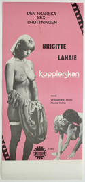 Kopplerskan <p><i> (Swedish Stolpe/Insert Poster) </i></p>