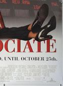 THE ASSOCIATE (Bottom Right) Cinema One Sheet Movie Poster