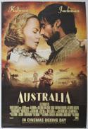 AUSTRALIA Cinema One Sheet Movie Poster