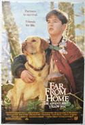 FAR FROM HOME - THE ADVENTURES OF YELLOW DOG Cinema One Sheet Movie Poster
