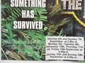 JURASSIC PARK II : THE LOST WORLD (Bottom Left) Cinema Quad Movie Poster