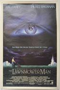 THE LAWNMOWER MAN Cinema One Sheet Movie Poster