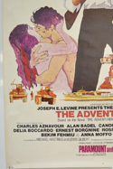 THE ADVENTURERS (Bottom Left) Cinema 4 Sheet Movie Poster