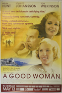 A GOOD WOMAN Cinema 4 Sheet Movie Poster