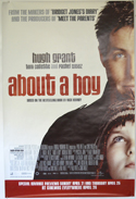 ABOUT A BOY Cinema 4 Sheet Movie Poster