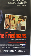 CAPTURING THE FRIEDMANS (Bottom Right) Cinema 4 Sheet Movie Poster