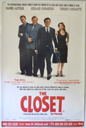THE CLOSET Cinema 4 Sheet Movie Poster