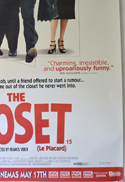 THE CLOSET (Bottom Right) Cinema 4 Sheet Movie Poster