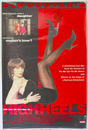 HIGH HEELS Cinema 4 Sheet Movie Poster
