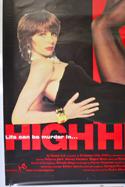 HIGH HEELS (Bottom Left) Cinema 4 Sheet Movie Poster