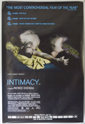 Intimacy <p><i> (British 4 Sheet Poster) </i></p>