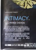 INTIMACY (Bottom Left) Cinema 4 Sheet Movie Poster