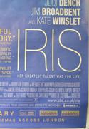 IRIS (Bottom Right) Cinema 4 Sheet Movie Poster