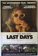 Last Days <p><i> (British 4 Sheet Poster) </i></p>