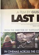 LAST DAYS (Bottom Left) Cinema 4 Sheet Movie Poster
