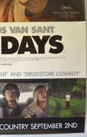 LAST DAYS (Bottom Right) Cinema 4 Sheet Movie Poster