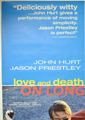 LOVE AND DEATH ON LONG ISLAND (Top Left) Cinema 4 Sheet Movie Poster