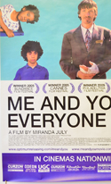 ME AND YOU AND EVERYONE WE KNOW (Bottom Left) Cinema 4 Sheet Movie Poster