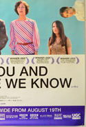 ME AND YOU AND EVERYONE WE KNOW (Bottom Right) Cinema 4 Sheet Movie Poster
