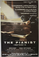 Pianist (The) <p><i> (British 4 Sheet Poster) </i></p>