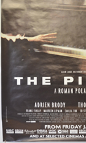 THE PIANIST (Bottom Left) Cinema 4 Sheet Movie Poster