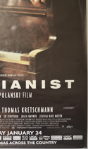 THE PIANIST (Bottom Right) Cinema 4 Sheet Movie Poster