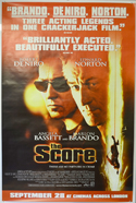 Score (The) <p><i> (British 4 Sheet Poster) </i></p>