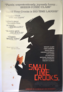 Small Time Crooks <p><i> (British 4 Sheet Poster) </i></p>