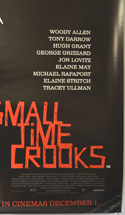 SMALL TIME CROOKS (Bottom Right) Cinema 4 Sheet Movie Poster