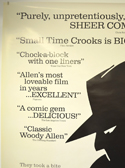SMALL TIME CROOKS (Top Left) Cinema 4 Sheet Movie Poster