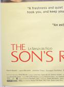 THE SON'S ROOM (Bottom Left) Cinema 4 Sheet Movie Poster