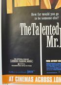 THE TALENTED MR RIPLEY (Bottom Left) Cinema 4 Sheet Movie Poster