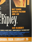 THE TALENTED MR RIPLEY (Bottom Right) Cinema 4 Sheet Movie Poster