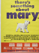 THERE'S SOMETHING ABOUT MARY (Bottom Left) Cinema 4 Sheet Movie Poster