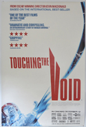 Touching The Void <p><i> (British 4 Sheet Poster) </i></p>