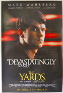 Yards (The) <p><i> (British 4 Sheet Poster - Mark Wahlberg Version) </i></p>