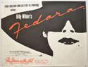 FEDORA Cinema Quad Movie Poster