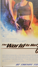 007 : THE WORLD IS NOT ENOUGH (Bottom Left) Cinema 4 Sheet Movie Poster