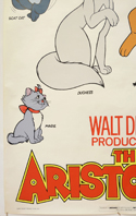 THE ARISTOCATS (Bottom Left) Cinema 4 Sheet Movie Poster
