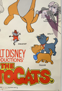 THE ARISTOCATS (Bottom Right) Cinema 4 Sheet Movie Poster