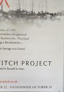 THE BLAIR WITCH PROJECT (Bottom Right) Cinema 4 Sheet Movie Poster