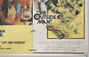COPS AND ROBBERS / THE OUTSIDE MAN (Bottom Right) Cinema Quad Movie Poster