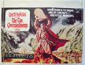 THE TEN COMMANDMENTS Cinema Quad Movie Poster