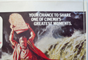 THE TEN COMMANDMENTS (Top Right) Cinema Quad Movie Poster